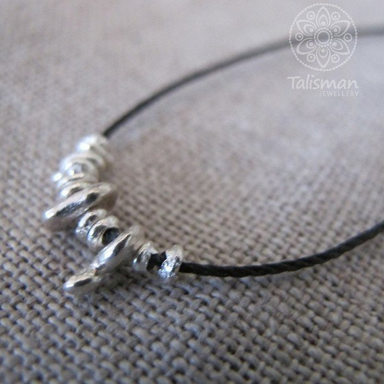 WabiSabi Cluster Necklace